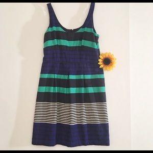 Loft Striped Dress Size 2P